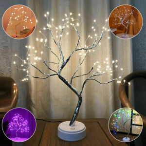 Pre Lit Easter Tree Lamp With 108 Led Light Up Brich Twig Tree Indoor Decoration