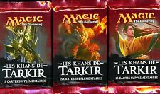MTG MAGIC  3  BOOSTERS LES KHANS DE TARKIR  français