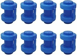 Trampoline Enclosure Pole Caps Thickened and Durable Trampoline Pole Cap 8PCS
