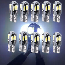 New 10x T10 W5W SMD Super White 8 LEDs Car Side Wedge Light Bulbs 194 168 57302