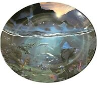 Sea Of Light By Dale TerBush The World Beneath The Waves Bradford Exchange Plate