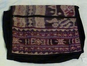 IKAT Bag Shoulder Strap Messenger Laptop Bag Hippie Festival Boho Chic BALI IKAT