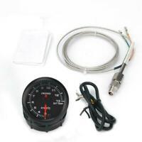 "2 ""52mm Auto Abgastemperaturanzeige LED Zeiger EGT Temperaturmesser O7I3"