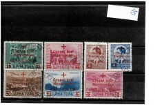 Montenegro-Germany ocupation 1944 Red Cross completed set USED