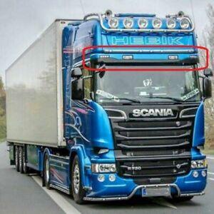 1/14 For Tamiya RC Scania R470 / R620 Truck Metal Top Head Fog LED Light Bar Set