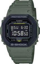 Casio G-Shock * DW5610SU-3 Digital Square Army Green Resin Watch
