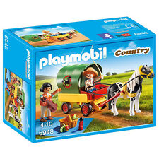 Playmobil Country Picnic with Pony Wagon 6948 NEW