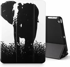 iPad 9.7 2017 Tablet Case,Poetic® Lightweight Leather Flip Slim Cover Elephant