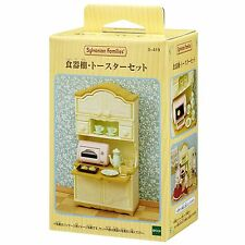 Sylvanian Families CUPBOARD AND TOASTER SET Epoch Japan KA-419 New Model