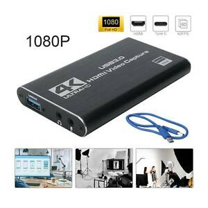 4K HDMI Capture Video Card USB 3.0 1080P Reliable Capture Game Card Recording