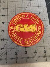 G&S Skateboards Sticker