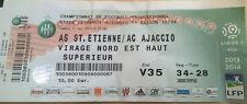 Billet de Match Ligue 1 Conforama Football AS Saint-Étienne/AC Ajaccio 2014