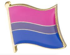 Lesbian Pride Lgbt Hat Tie Tack Bisexual Flag Lapel Pin18mm x 10.5mm Gay