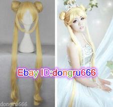 Hot Sell! Popular New Sailor Moon Tsukino Usagi Yellow Cosplay Wig HOT Sales