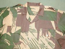 Rhodesia Army Bush War RHODESIAN CAMO FIELD SHIRT EXC WPG Combat Camouflage