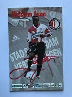 Autogramm CHRISTIAN GYAN-Feyenoord Rotterdam 99/00-NS GHANA-Ex-Wrexham/TPS-AK