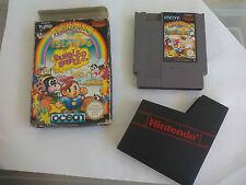 Rainbow Islands. Bubble Bobble 2. Juego + caja. Para Nintendo Nes. Pal B. España