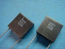 (2) AVX MR085A823JAA 0.082uF 50V 5% RADIAL CERAMIC CAPACITOR C0G NP0