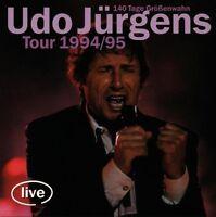 "UDO JÜRGENS ""TOUR 1994/95-140 TAGE GRÖßENWAHN"" 2 CD NEU"