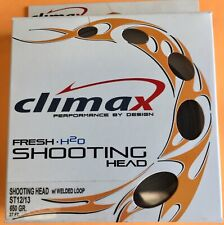 Climax Shooting Head ST 12/13 650 Grain 37 ft. Sink 2/4 Fly Line Dual Loops