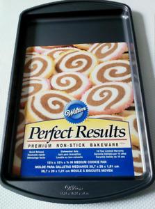 Wilton Cookie Baking Tray Pan Perfect Results Premium Non-Stick Bakeware