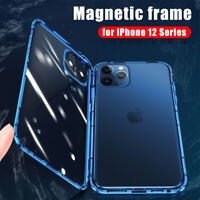 Case for iPhone 12/Pro Max/Mini Full Protection Double-Side Glass Screen Cover