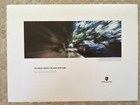 "PORSCHE OFFICIAL 911 997 CARRERA CABRIOLET ""VOLUME"" SHOWROOM POSTER 2005-2008"