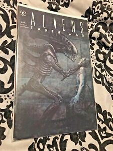 Aliens Earth War #2 Comic Book 1990 VF / NM 2 of 4