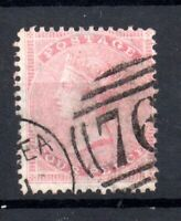 GB QV 4d rose SG66A fine used WS17827
