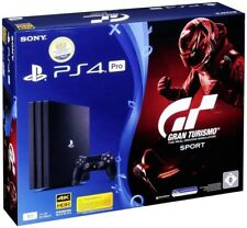 Sony PlayStation 4 Pro 1 To + GT GRAN TURISMO Sport (ps4)
