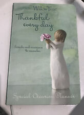 Willow Tree Thankful Every Day: Special Occasion Planner - New