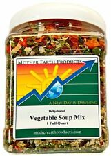 Mother Earth Products Dried Vegetable Soup Mix 10oz 283g