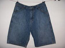 """Levi's Worker Denim Shorts Sz 34, Measure 36""""W Excellent!"""
