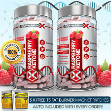 X2 PURE RASPBERRY KETONE -STRONGEST LEGAL SLIMMING / DIET & FAT BURNER PILLS