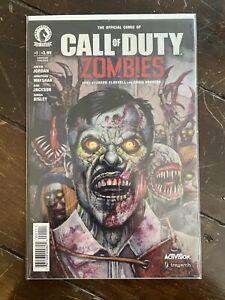 Call of Duty Zombies Comic #1 Dark Horse Comics ACTIVISION 2016