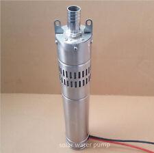 New Solar Pumping Machine 24V DC 40M Head Deep Well Submersible Water Pump