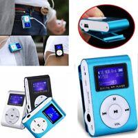 "USB Mini 1.8"" LCD /CLIP Digital MP3 Music Player Support 16GB Micro SD Card GIFT"