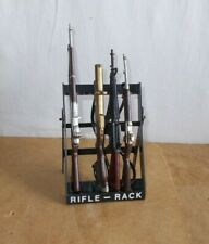 vintage palitoy ACTION MAN vam - RIFLE RACK complete with 4 rifles - 60's
