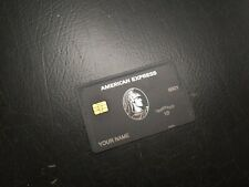 10 HOUR SALE!!!!!  - - THE BEST 2020 American Centurion Card Black Metal Express