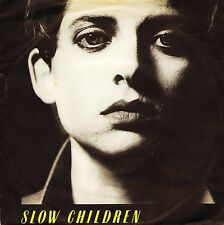 "SLOW CHILDREN talk about horses/ticket to france ENY 206 uk 1981 7"" PS VG/VG"