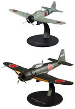 Lot de 2 Avions Japonais Mitsubishi WW2 - 1/72 militaire diecast DeAgostini