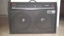 Vintage Sunn SL260 Guitar Amplifier Combo Amp 212 2x12 60 Watt Solid State