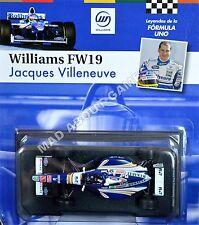 WILLIAMS FW19 JACQUES VILLENEUVE #3 1:43 Scale F1 Racing Car Model Formula One