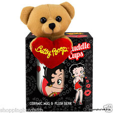 Betty Boop Collectible Mug & Bear Cuddle Cups 11z King Features Some Like It Hot