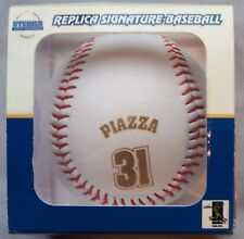 MIKE PIAZZA SIGNED FACSIMILE BASEBALL STEINER SPORTS