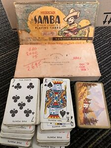 Vintage Australia PLAYING CARDS Mexican Samba Triple Pack Canasta