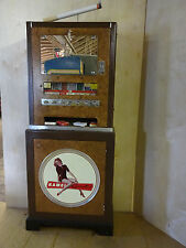 Rare Vintage Cigarette Machine, Fawn Engineering Corp, Des Moine Iowa, will ship