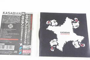 KASABIAN-VELOCIRAPTOR! SICP 3274 CD JAPAN OBI A14309