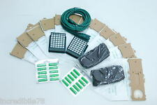 compatibile X folletto vk 130 131 12 sacchetti profumi filtri cavo 10 metri