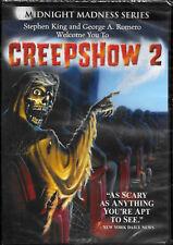 CREEPSHOW 2 - 1987 Horror, Stephen King, George A Romero, Tom Savini, NEW DVD